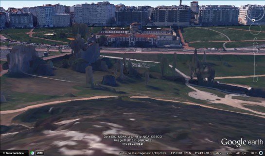 carcel coruna google earth 03
